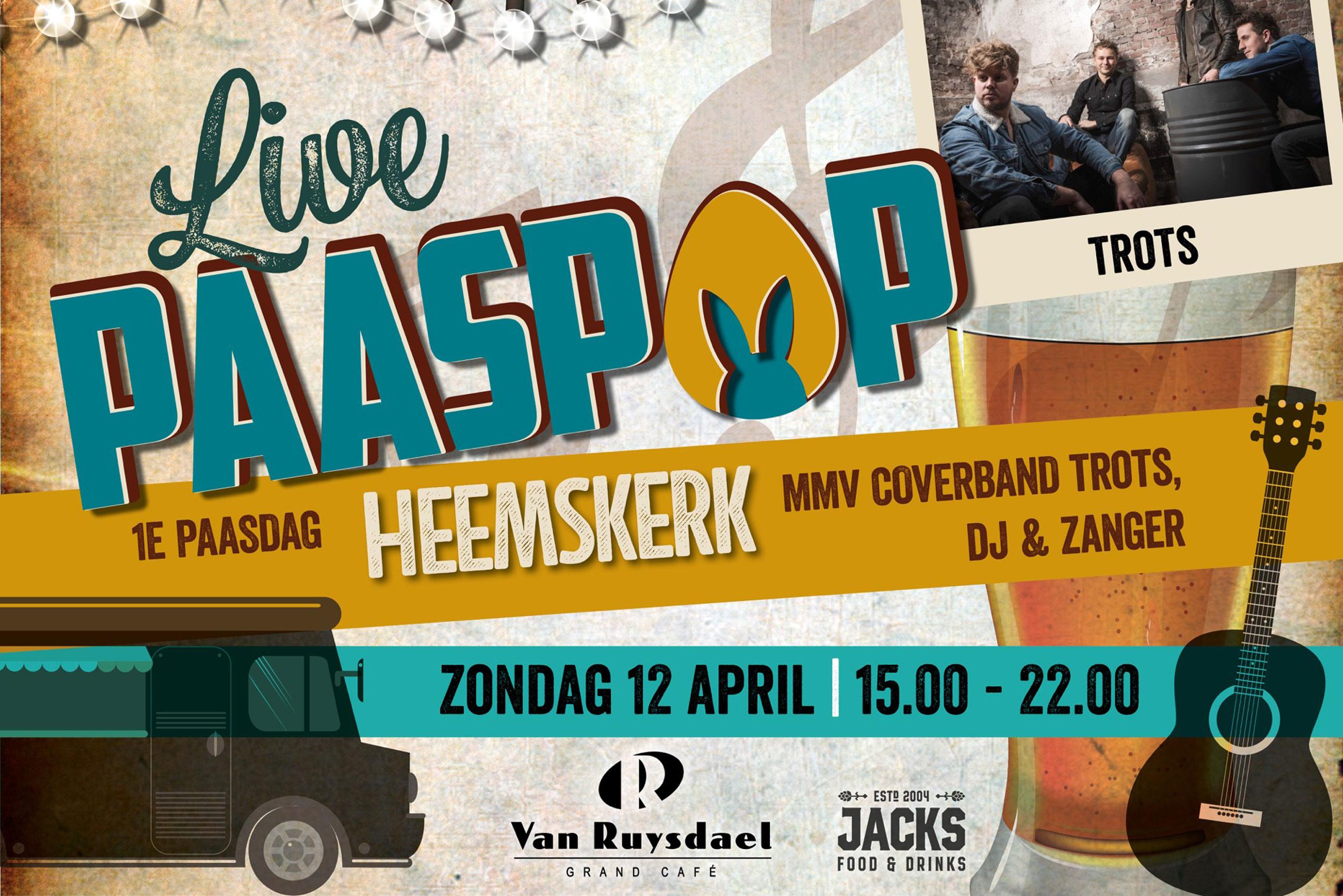 Paaspop - Zondag 12 april