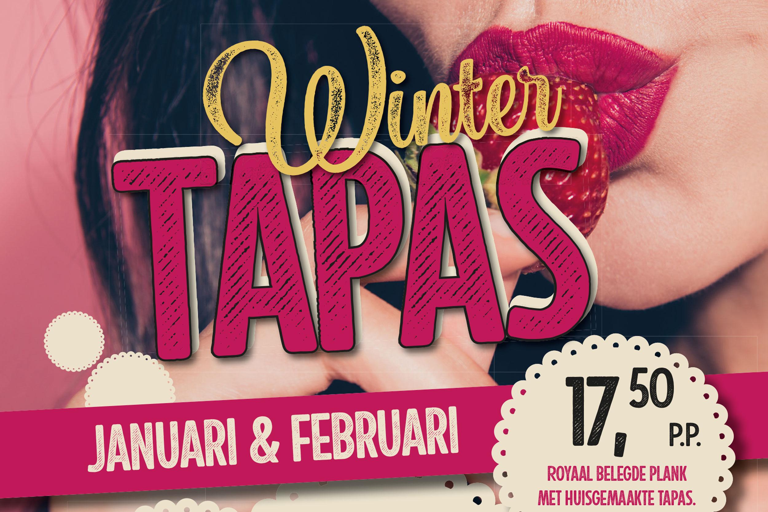 Winter Tapas in januari & februari